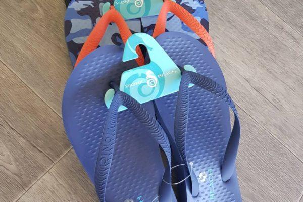Orthotic Beach Thongs for men