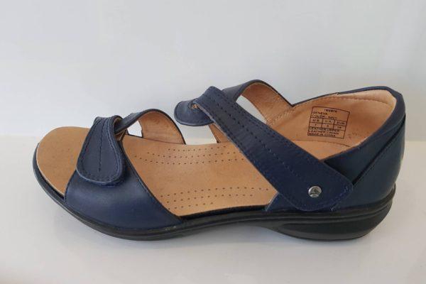 Geneva - Revere Orthotic Friendly sandals at Hip2Toe Plus