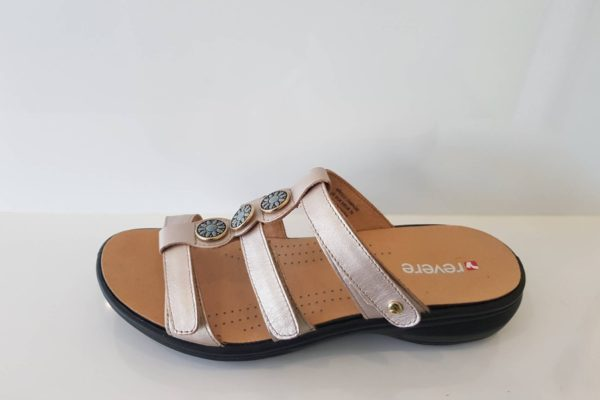Morocco -Revere Orthotic Friendly Sandals at Hip2Toe Plus