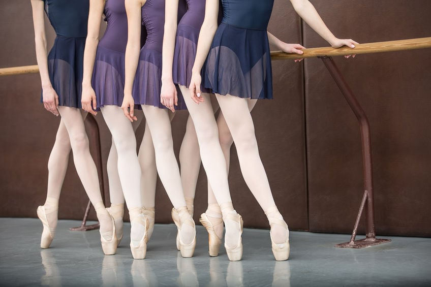Ballet Pointe shoes readiness assessment