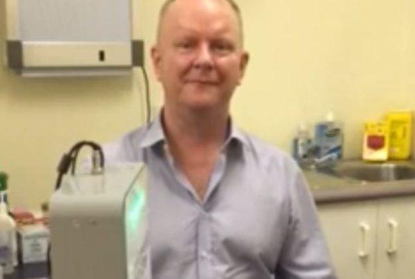3D Laser foot scan for prescription Orthotics at Hip2Toe Plus Cairns